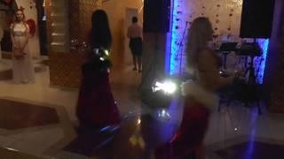 �������� ���� Belly dance дуэт в ресторане Баку в Киеве ������