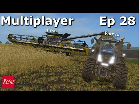 Farming Simulator 2017 | Multiplayer | Episode 28 thumbnail