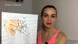 Рисуем картину по номерам! Сможет даже тот кто не умеет рисовать!!!♥♥♥Silena Sway♥♥♥
