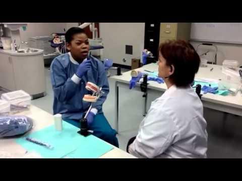 UEI dental program students