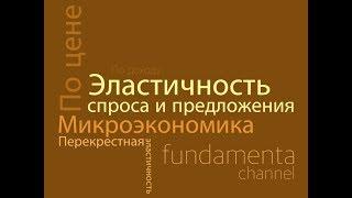 Эластичность спроса и предложения. Микроэкономика. 2.