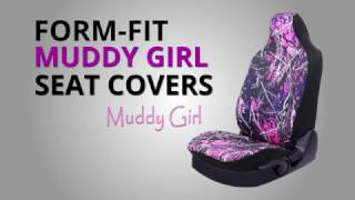 Muddy Girl Form Fit Seat Cover Installation Guide