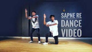 Sapne re song robot sad story dance video choreography by akash chouhan