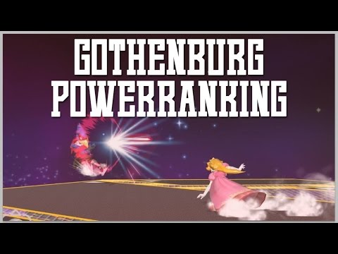 Gothenburg SSBM Power Rankings - Winter 2016