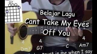Belajar Gitar (Cant Take My Eyes Off You - Frankie Valli)