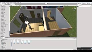 Как сделать игру на Unity 5 #31 Двери, IK, корутины и интерфейсы