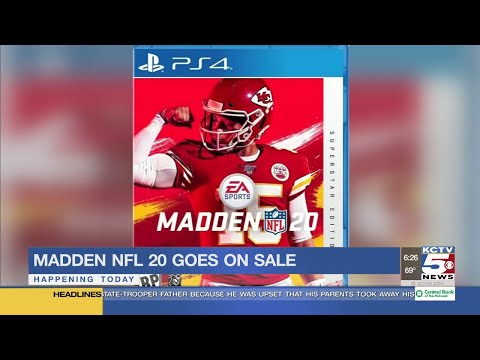 Madden Nfl 20 With Patrick Mahomes On Cover Goes On Sale