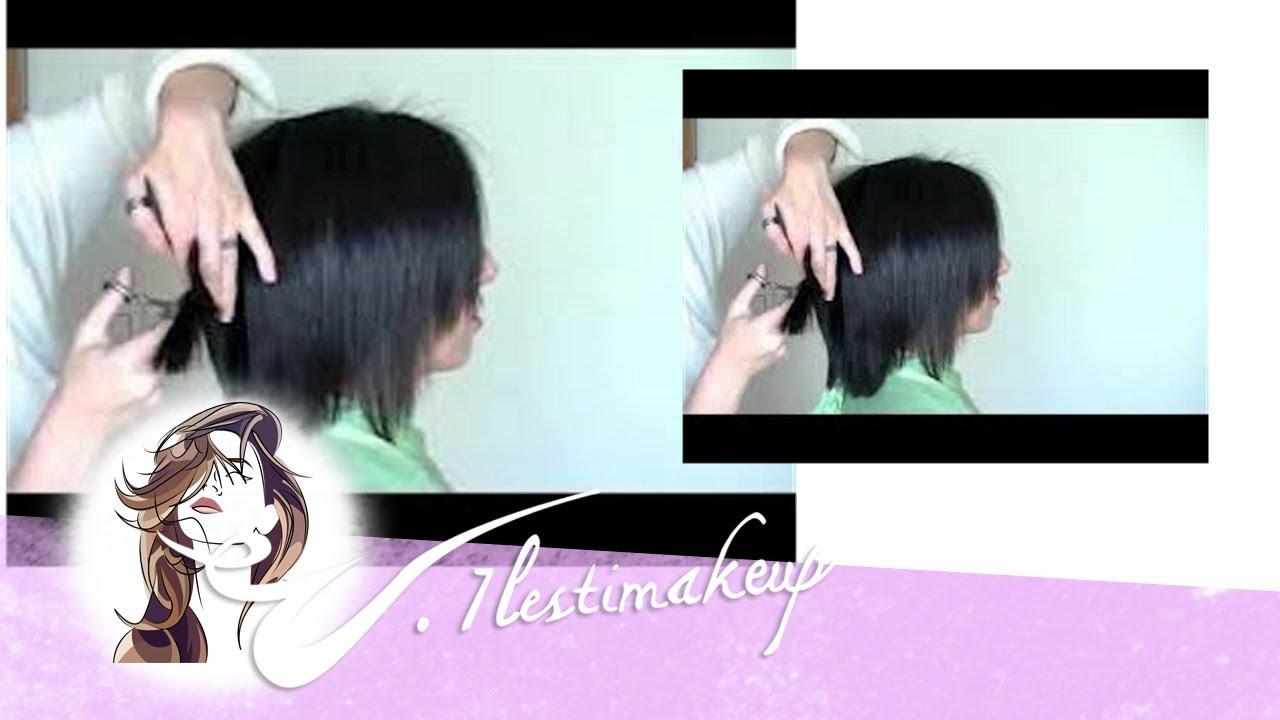 Arreglar corte de pelo mal hecho
