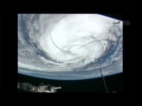 Raw Video: Space Station View of Isaac