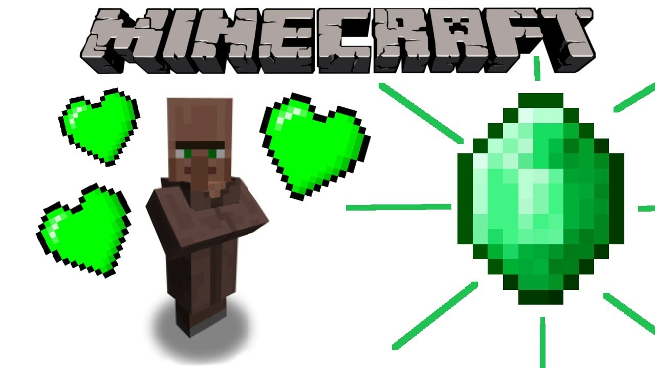 Why Villagers Trade Emeralds Minecraft