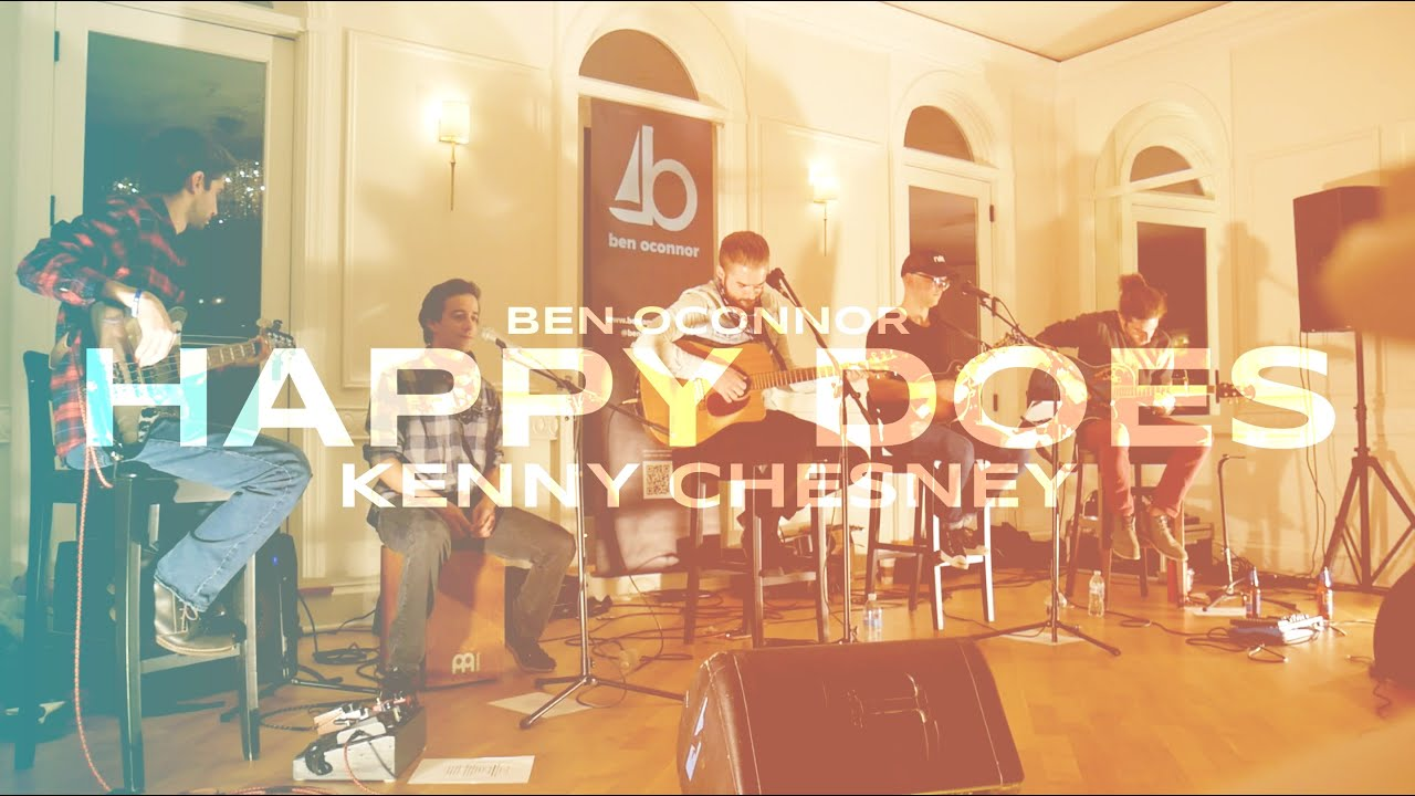✪ Happy Does by Kenny Chesney - Ben OConnor #acousticuts