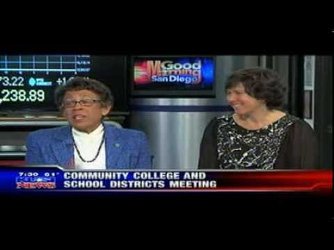 SDCCD Chancellor Constance M. Carroll and SDUSD Superintendent Cindy Marten Interview on KUSI News