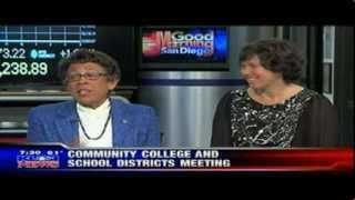 SDCCD Chancellor Constance M. Carroll and SDUSD Superintendent Cindy Marten Interview on KUSI News