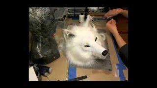 White Wolf Mask - High-Speed Making-Of