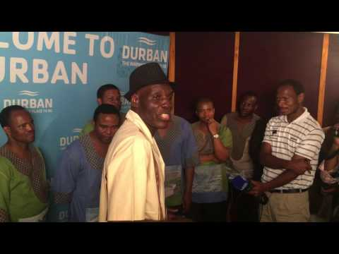 Ladysmith Black Mambazo and Oliver Mtukudzi Collaborate to celebrate Durban