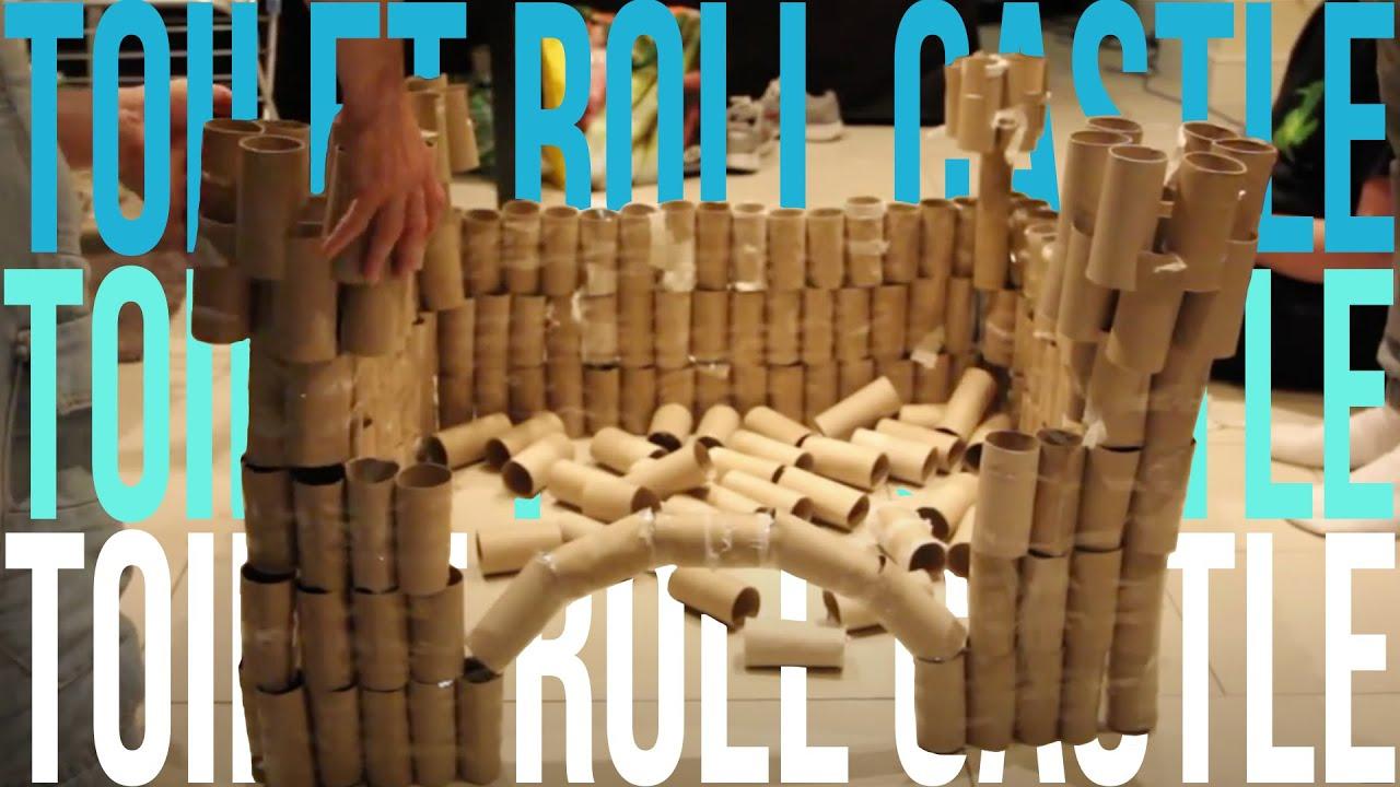 Toilet Roll Castle - YouTube