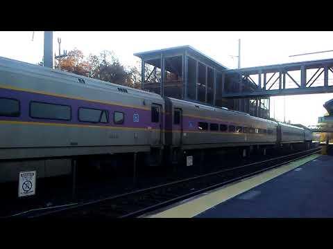 MBTA Commuter Rail in Westborough, MA