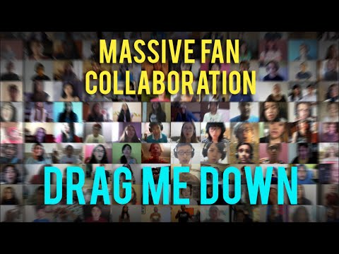 1000 people sing Drag Me Down  One Direction
