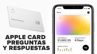 Apple Card: 7 preguntas y respuestas sobre la tarjeta de crédito