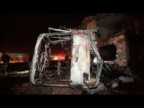 Suicide truck bomb blast in Iraq, ISIS claims responsibility
