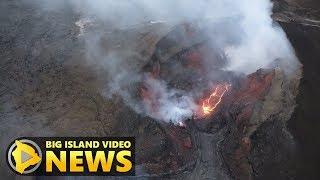 Hawaii Volcano Eruption Update - Wednesday Morning (Aug. 8, 2018)