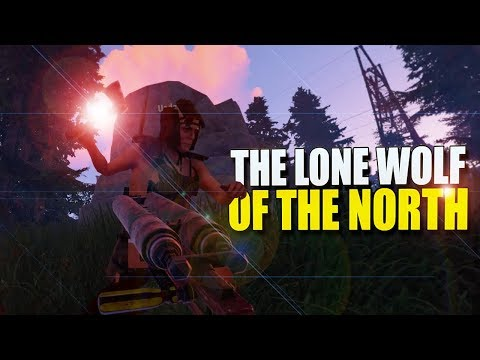 The Lone Wolf Of THE NORTH Fights Off The WOLF PACKS (Rust Survival) #90