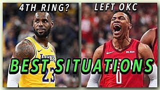 6 NBA Stars In The Best Current Situations