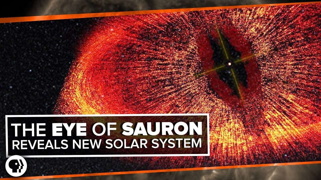 The Eye Of Sauron Reveals A Forming Solar System E Time