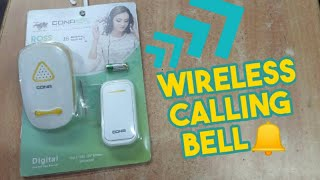 Remote Wireless Calling Bell Explained in Tamil