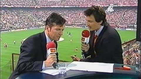 Sehr seltene Aufnahmen Fc Bayern - Fc Valencia Champions League Finale Vorberichte Komplett 1/3