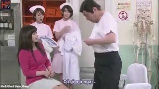 Hài Nhật Bản Cởi Đồ Khám Bênh Cho Nữ Sinh