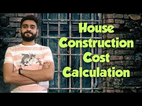 How To Calculate Construction Cost Of A House?