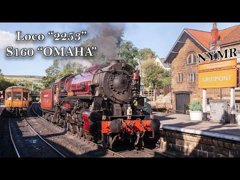 """NYMR - OMAHA 2253 """"Transportation Corps"""" 31st August 2019"""