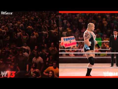 Tensai   WWE 2K14 and WWE 13 Entrance