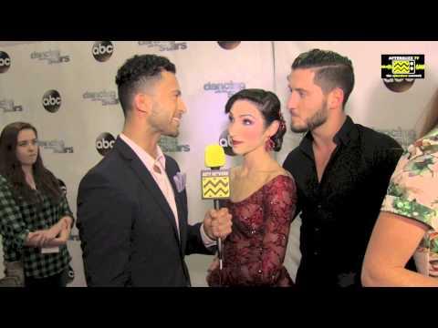 Dancing With The Stars - Meryl Davis & Val Chmerkovskiy AfterBuzz TV Interview April 7th 2014