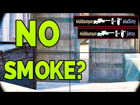 When They Don't Smoke Mid Doors (wallbangs For Days) - CSGO Faceit