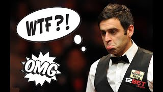 Snooker: TOP 10 WTF moments EVER!