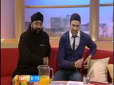 Suleman Mirza - GMTV Interview with SIGNATURE