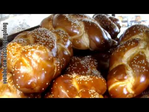Appetitizing ABC song: learn alphabet & get appetitized by Sabbath bread from Jerusalem