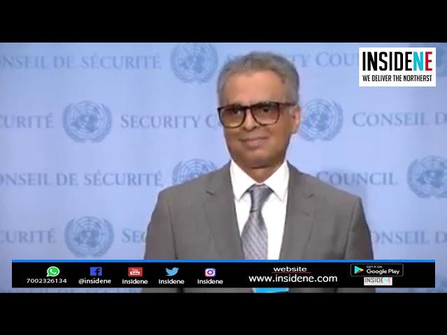 India's Permanent Representative to  UN Syed Akbaruddin Speaks on Democracy, Article 370