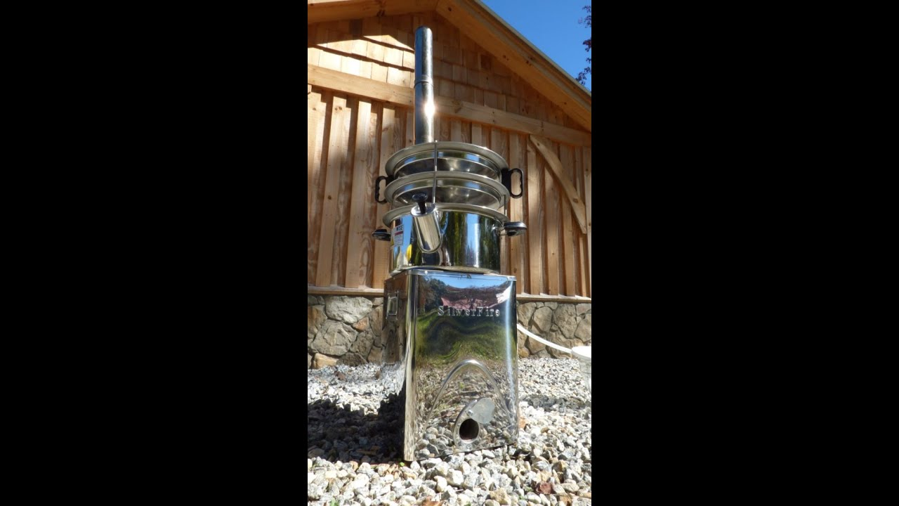 Camping Water Distiller ~ Off grid water distillation at its best youtube