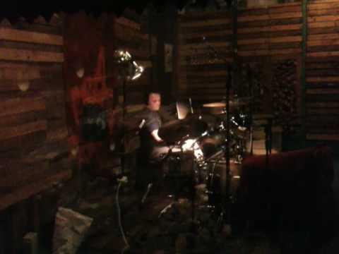 Paul Quigley - Drumming in Jac Dalton Studio Session