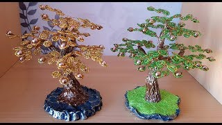 Дерево из бисера. Денежное Дерево  / Прямой эфир - Дерево из бисера.