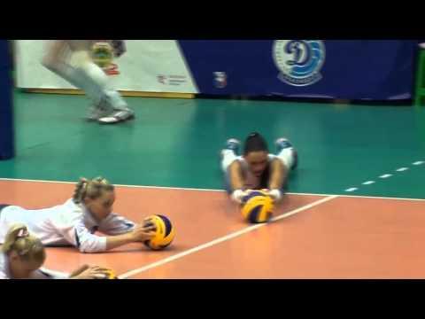 Волейбол  Женская разминка