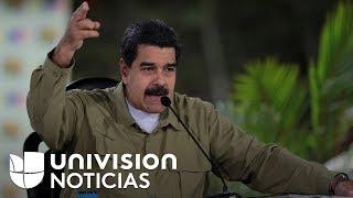 Nicolás Maduro acusa a Colombia y Estados Unidos de estar detrás del alzamiento militar en Valencia
