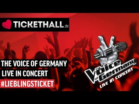 The Voice Of Germany Live In Concert Tour 20162017 Youtube