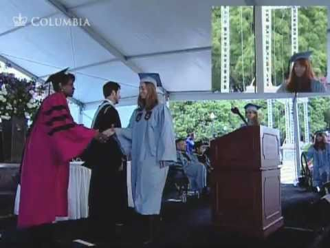 2011 Columbia College Class Day Ceremony - YouTube