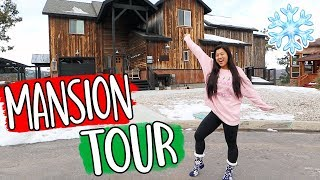 HUGE MANSION TOUR!! Vlogmas Day 9