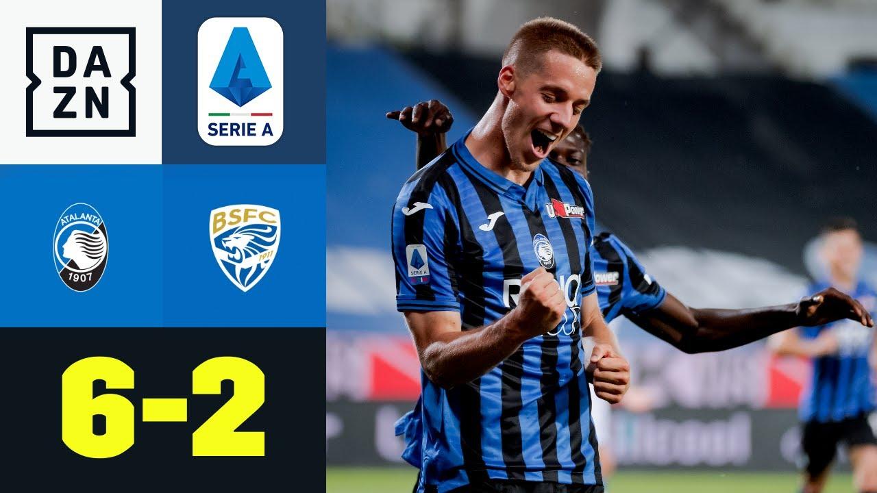 Pasalic-Dreierpack sorgt für Kantersieg: Atalanta Bergamo - Brescia Calcio 6:2 | Serie A | DAZN