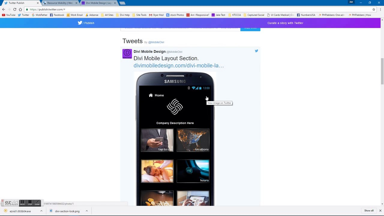 divi theme add twitter widget - youtube